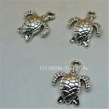 20pc Tibetan Silver Sea turtles Charm Beads Pendant accessories Findings  PL582