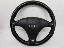 AUSI B5 S4 STEERING WHEEL COMPLETE BLACK LEATHER A4 S4 VW GTI GLI MK4