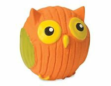 """HUGGLEHOUNDS DURABLE RUFF TEX POPPY THE OWL 3.5"""" DOG TOY. IMPERFECT PACKAGING"""