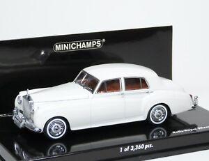 Rolls-Royce Silver Cloud II MK2 weiß white blanc wit Minichamps 436134900 1:43