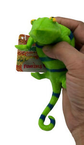 20cm Fumfings Strechy Squishy Beanie Chameleon Toy Ideal For Science, School Pro