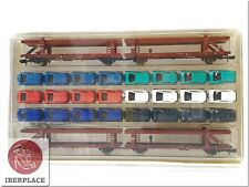 N 1:160 escala modelismo trenes vagones mercancias Trix Minitrix 15207 Set DB <