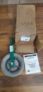 """Greenlee 8012 12"""" O.D Steel Frame/Aluminum Cable Puller Hook Sheave Assembly"""