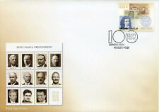 Estonia 2019 FDC Eesti Pank 100 Yrs Central Bank Notes 1v Cover Banking Stamps