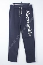 Abercrombie & Fitch Mens XL Sweatpants Drawstring Dark Gray NWT