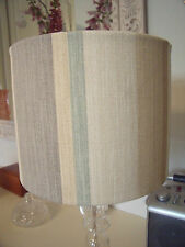 Handmade Drum Lampshade  Laura Ashley Awning Stripe  all colours available