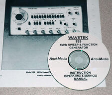 WAVETEK 189 Genrator Instruction Manual (Ops & Service)