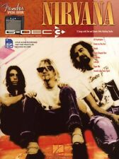 Fender Special Edition G-DEC Guitar Play-Along Nirvana Music Book SD Card