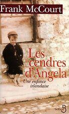 FRANK McCOURT / LES CENDRES D'ANGELA / UNE ENFANCE IRLANDAISE / GRAND FORMAT