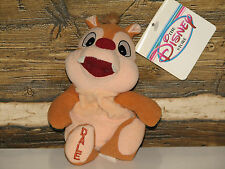 DISNEY DALE PLUSH FROM CHIP AND DALE   NWT      CHIPMUNK   RED NOSE