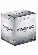 James Bond 007 Complete Collection 22 Film DVD Box Set New & Sealed Gift