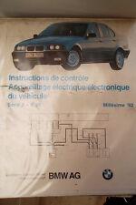 BMW série 3 E36 : schémas électriques 1992