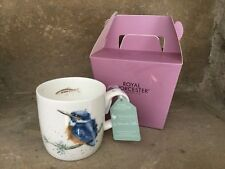 Wrendale Designs King of the River kingfisher bird bone china mug