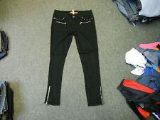 "Denim Co Skinny Jeans Size 12 Leg 28"" Black Faded Ladies Jeans"