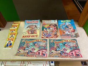 "Vintage Topps 1986 Garbage Pail Kids LOT of 5 Posters Kids 12""x7"" Stick 'em Up"