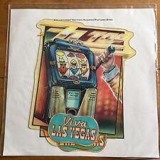 "Zz Top - Viva Las Vegas  7"" Shaped Picture Disc Vinyl"