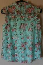 Nwt Almost Famous Women's Floral Sleeveless Top Size Small