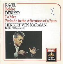 Debussy / Ravel ~ La Mer / Bolero ~ Karajan