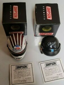 Simpson Mini Racing Helmets Limited First Edition Earnhardt, + Prudhomme