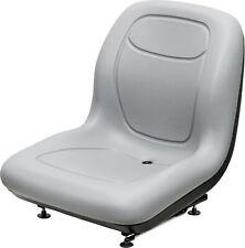 Bobcat Gray Skid Steer Bucket Seat Fits 310 371 743 853h 2400 7753 S160 Etc