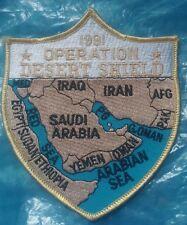 operation desert shield 1991 patch