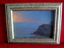 Joseph DuVivier Fog Bank Near Elk 2001 Archival Print Repro of Oil Painting 7x9