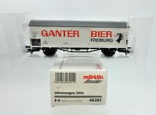 "MARKLIN HO SCALE 48853 2004 INSIDER ""GANTER BIER"" FREIGHT CAR"