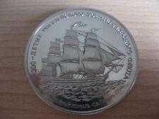 RUSSIA USSR CCCP Soviet Union 300 years of NAVAL FLEET Medal #16.832