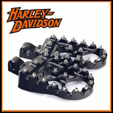 NEW HARLEY DAVIDSON STREET BOB BLACK WIDE FOOT PEGS MX STYLE BOBBER