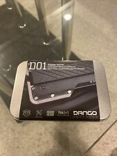 Dango Products D01 DAPPER WALLET (Jet Black) from Kick Start Promo! With extras!