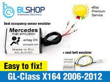 Per Mercedes internazionale X164 Bypass SEAT Occupancy Mat Sensor Airbag Srs Emulatore