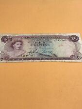 Bahamas Paper Money P-17 Half Dollar - Scarce