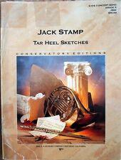 TAR HEEL SKETCHES - Jack Stamp - new Concert Band complete set
