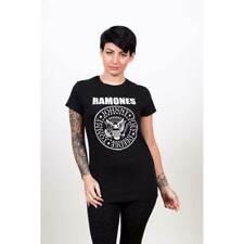 Ramones 'Classic Logo' Skinny Fit T-Shirt *CBGB* *Official Ramones Merch*
