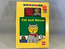 New Lego Duplo Cat & Mouse Build A Story Interactive Playbook 18 Months Up