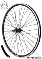 700c wheelsON Rear Wheel MTB/Hybrid Black Rim Brake 36H for 5/6/7 speed