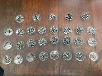 Job lot STAINLESS STEEL metric screws & nuts M3-M6 -live steam engine / aircraft