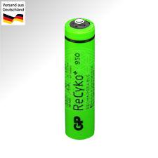 4x GP ReCyko+ AAA NiMH Rechargeable Battery 950mAh 1,2V 1.2V GP95AAAHC Micro R03