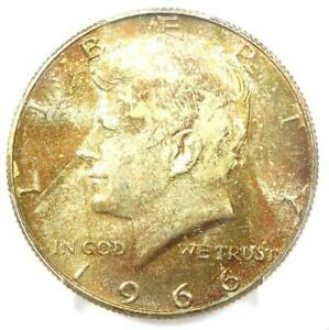 1966 Kennedy Half Dollar 50C Coin - PCGS MS67 - Rare in MS67 - $3,000 Value!