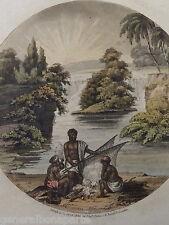 Edward ORME 1775 -1848) GRAVURE COULEUR VOYAGE EXPLORATION INDE INDIA ? 1806