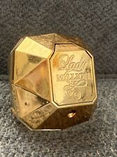 Paco Rabanne Lady Million Women's Eau de Parfum 2.7 oz. 80 ml 40% Full