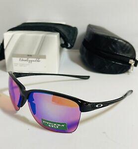 New Oakley Womens Unstoppable Sunglasses Polished Black Frame W/ Prizm Golf Lens