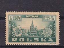 poland 1945 Sc B40 poznan,set MNH     l1610