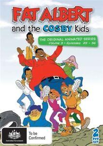 Fat Albert And The Cosby Kids DVD Volume 3  Episodes 25-36 Australia Region 4