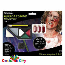 Halloween Horror Zombie Make Up Special Effects Kit Fancy Dress Party Costume