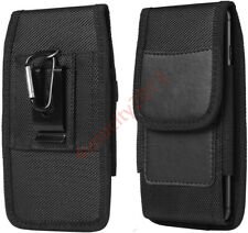 Mens Classic Cell Phone Pouch Holster Waist Bag Belt Clip Loop Wallet Case Cover