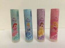 Vintage~Avon (4) Disney Princess lip balms-Aurora;Belle;Cinderella;Ariel-Sealed