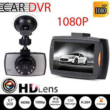 1080p Full HD Car DVR Video Camera Dual Lens Dashboard Cam Night Vision Durable