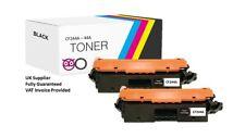 2 x Black Toner Cartridge Compatible CF244A 44A For HP LaserJet Pro M15w Printer