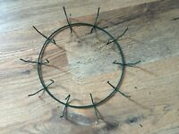 Martha Stewart Christmas PVC coated DIY wreath ring craft hobby outside indoor